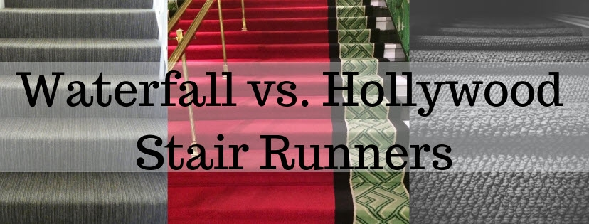 Waterfall Vs Hollywood Stair Runners   Measuring Stairs For Carpet   Square Feet   Square Foot   Rug   Stair Runner   Flooring