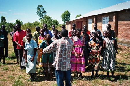 Jugendchor/Anti-Aids-Club der Nkhota-khota Gemeinde