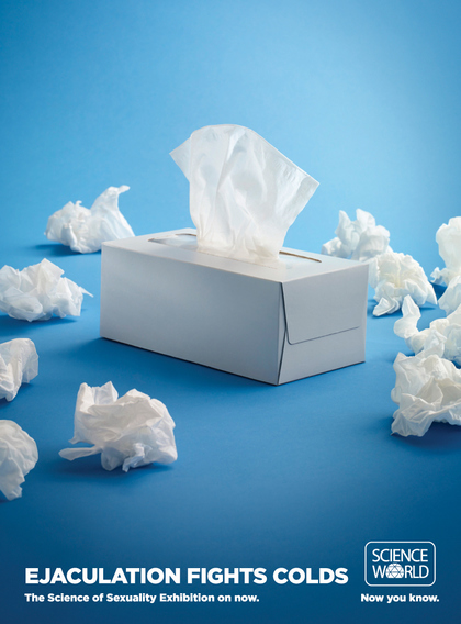 射精可以對抗感冒。(Ejaculation Fights Colds.)