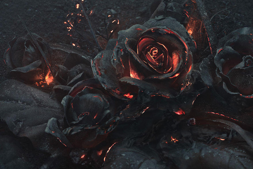 burning-roses-sculpure-2