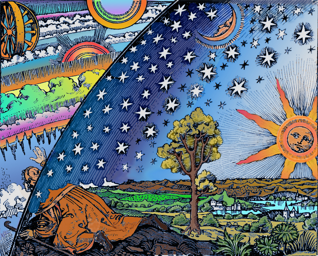 flammarion-woodcut-dome
