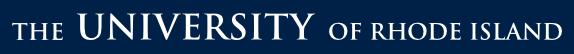 The University of Rhode Island logo