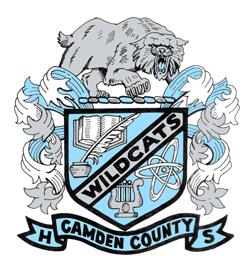 Camden County High School logo