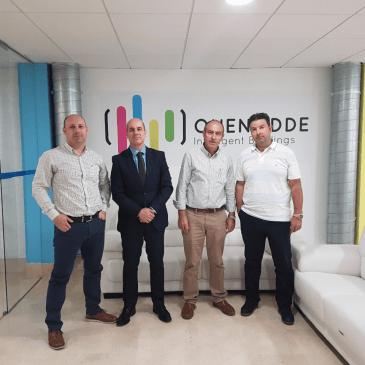 Visita del Director General de Empresas, Competitividad e Internacionalización a Onenodde