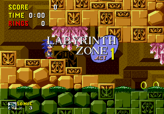 Labyrinth Zone: Act 1