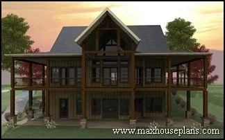 New Home Building and Design Blog   Home Building Tips   Lake House     Craftsman  Lake  and Cottage Home Plans   Max Fulbright Designs
