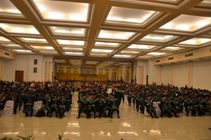 Wisudawan/ti S1 dari berbagai Fakultas dan Jurusan IAIN Syekh Nurjati Cirebon.
