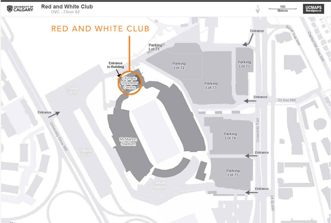Red and White Club map