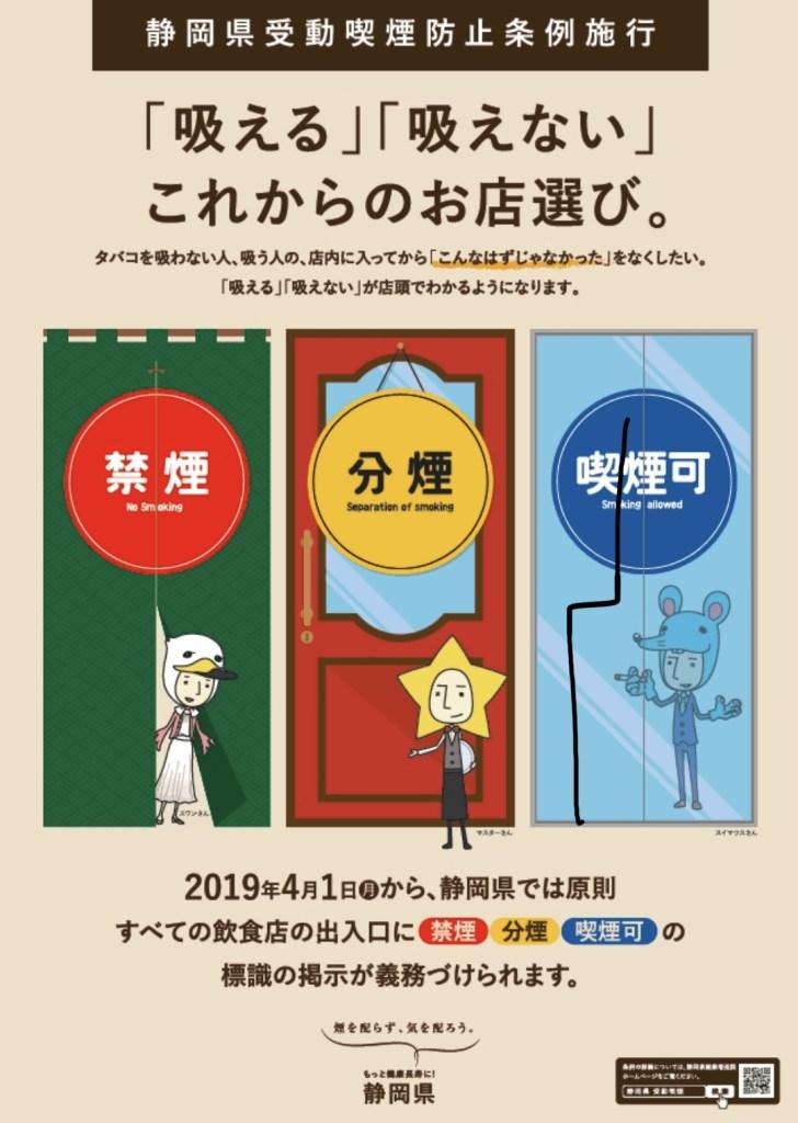 静岡県受動喫煙防止条例
