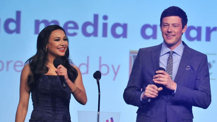 The chilling connection between Naya Rivera and her former Glee partner Cory Monteith