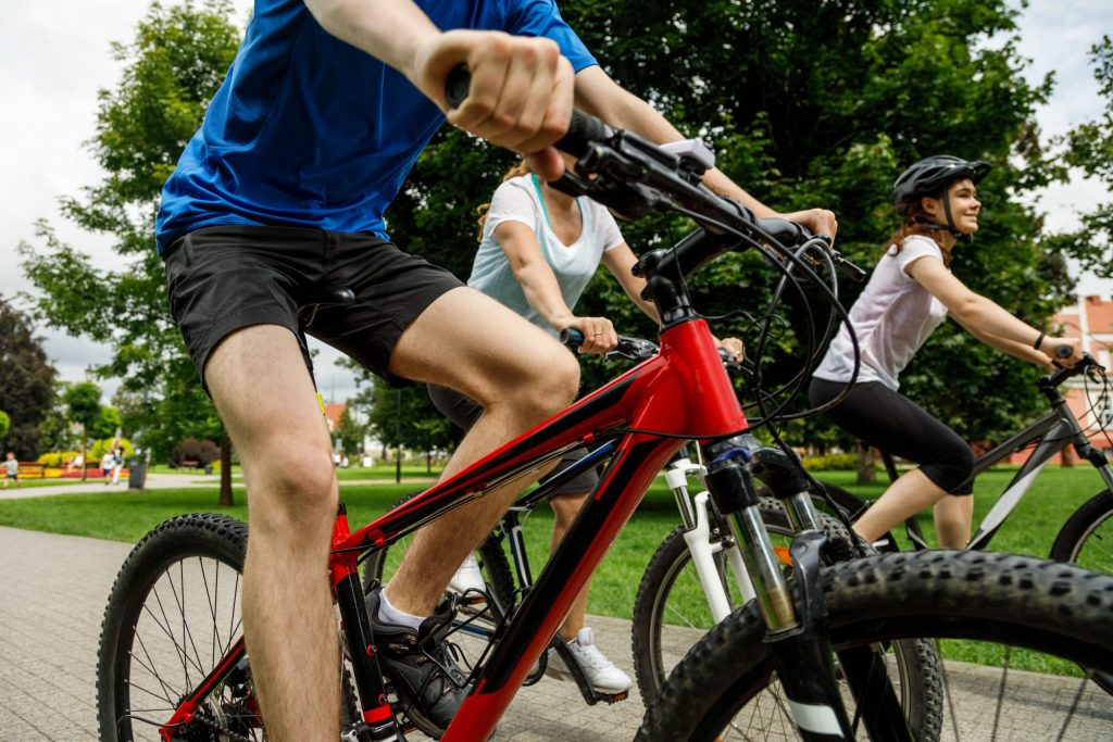 What types of bikes are perfect for sports?
