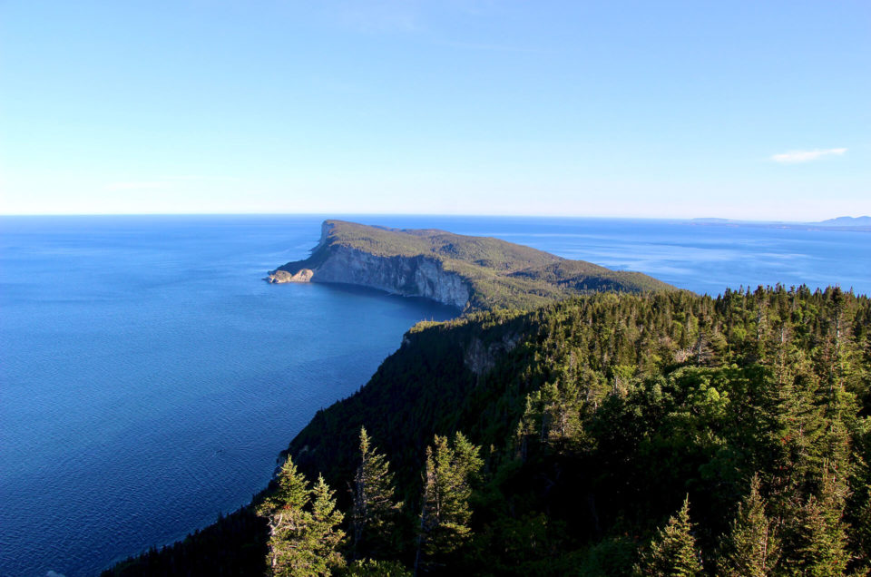 2 days in Forillon Park at the end of the Gaspé
