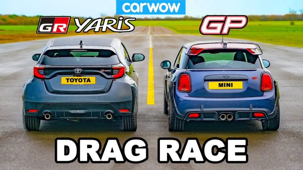 [Vídeo] Toyota GR Yaris vs. MINI John Cooper Works GP: Let's see if you expected this result ...