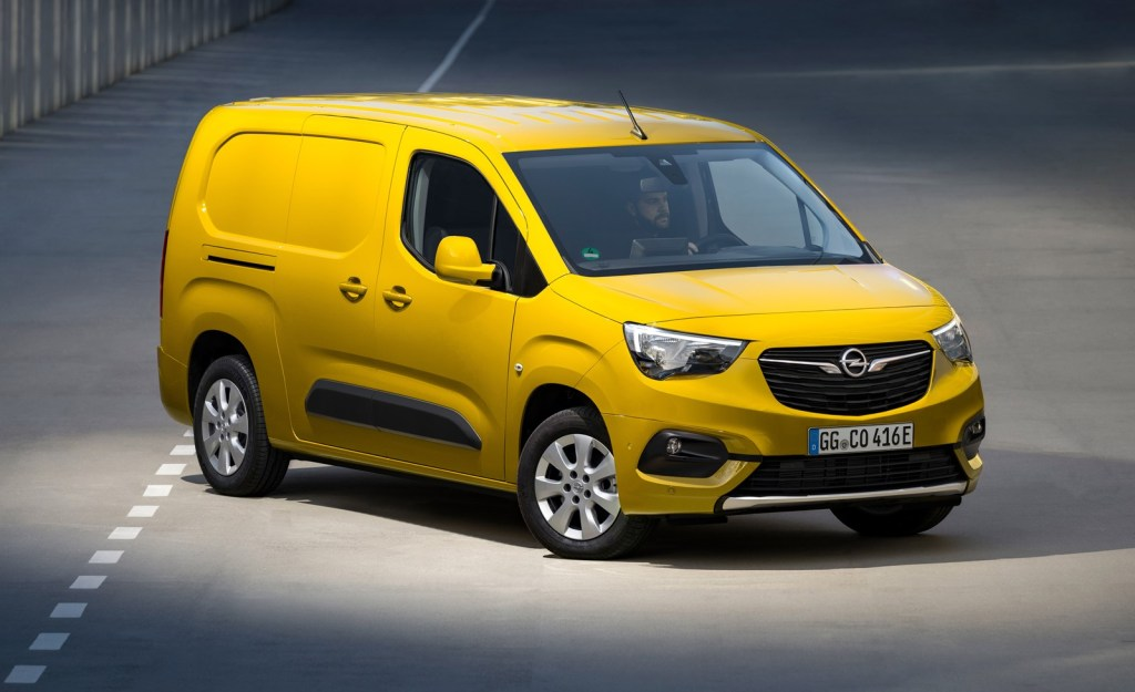 The Opel Combo-e Cargo arrives with 275 km of autonomy