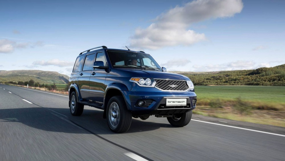 New Bremach Taos ... or how to sell the UAZ Patriot in the United States
