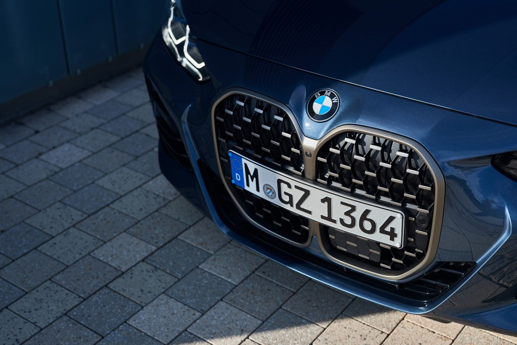 Do you criticize the BMW grille? Well be careful, because the designers will continue on that path