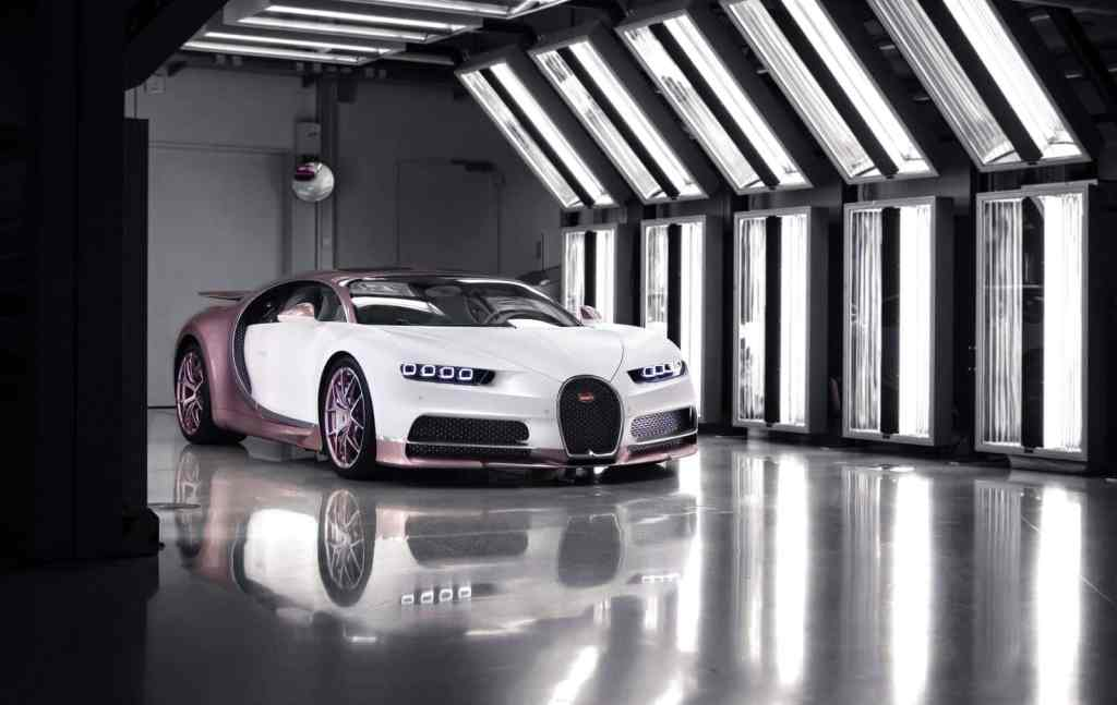 And as a Valentine's gift, a personalized Bugatti Chiron for his wife