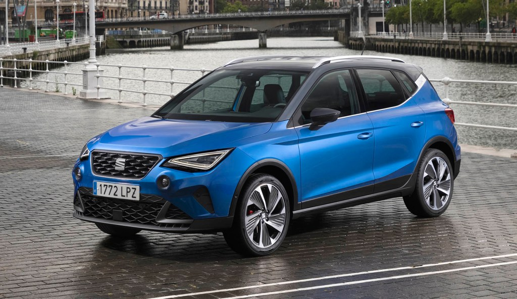 The SEAT Arona 2022 continues with diesel ... although not in Europe