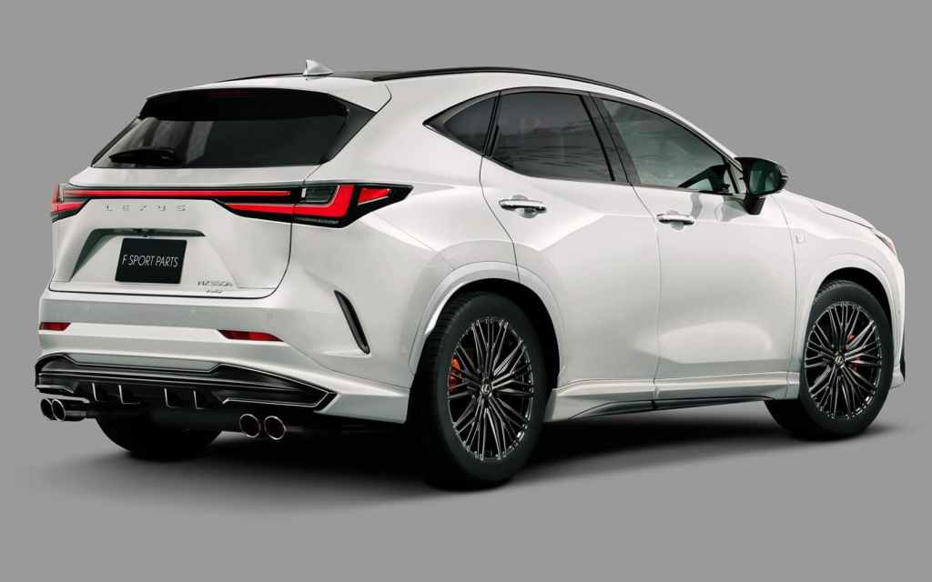 How about the TRD tuning for the Lexus NX?
