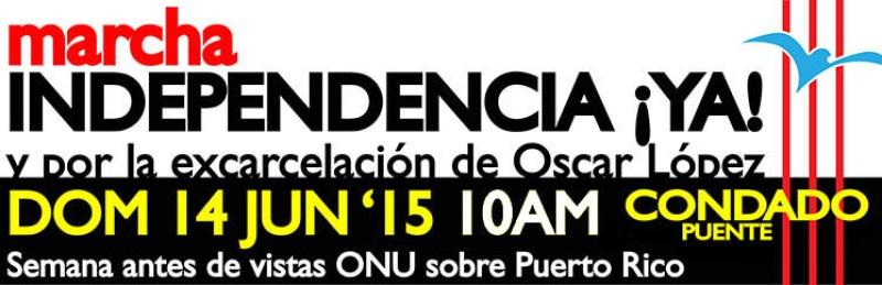 Marcha por la Independencia 2015 Condado