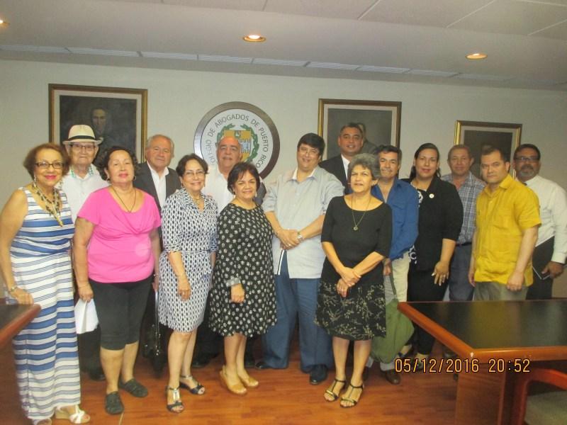 Reunion Delegados ONU, Colegio de Abogados por Edwin Chungo Molina