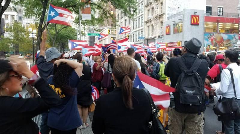 Empuje en NYC para independencia de PR