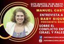 Entrevista a Baby Siqueira, periodista brasileña sobre el conflicto Israel-Palestina, Mayo 18, 2021