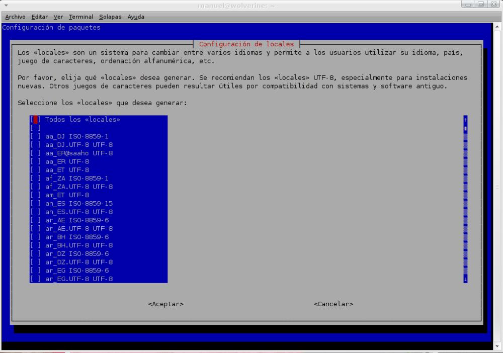 Cómo cambiar el idioma del ambiente gráfico de GNU/Linux Debian después de la instalación (1/3)