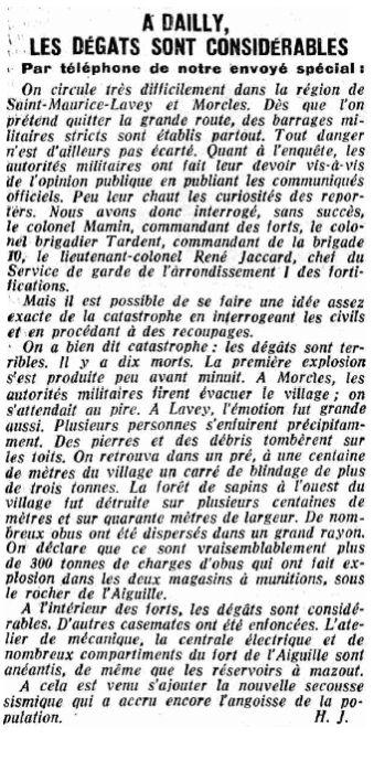 20.4 La catastrophe de Dailly 1946