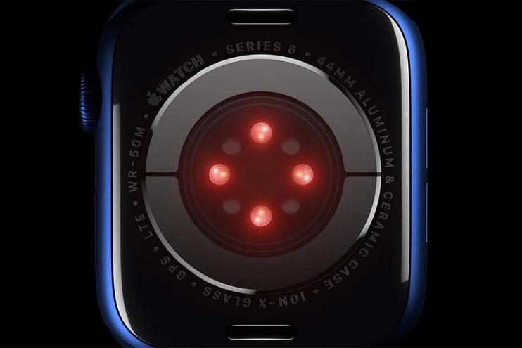 El Apple Watch Series 6 de 2020 ya incluye un sensor de óxigeno en sangre