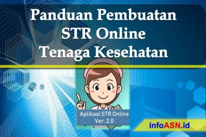 Panduan Pembuatan STR Online Bagi Tenaga Kesehatan
