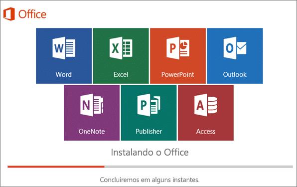 Pacote Office para empresas