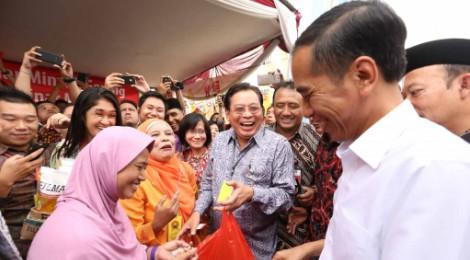 Presiden di Bazaar Banyumas