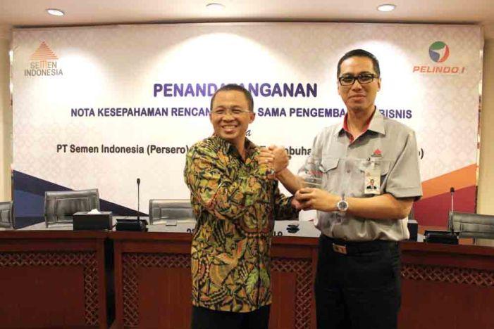 Kerjasama Semen Indonesia dan Pelindo I –
