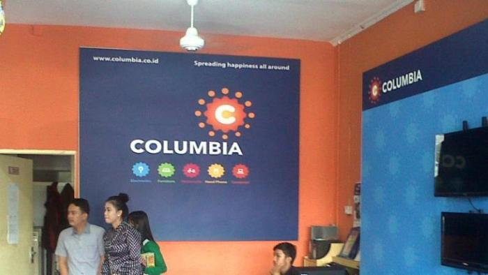 Gerak Agresif Columbia di E-commerce