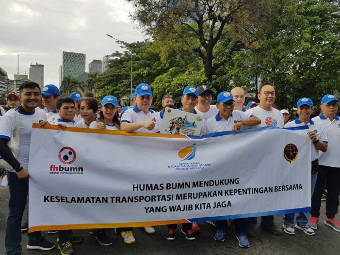 Humas BUMN Dukung Gerakan Keselamatan Transportasi Menjadi Budaya