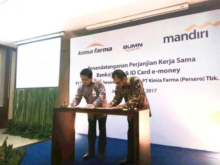 Kolaborasi Layanan Perbankan Mandiri dan Kimia Farma