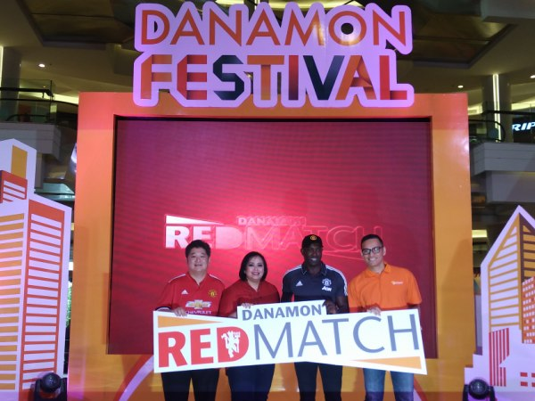 Danamon Kembali Datangkan Legenda MU Dukung Program Red Match