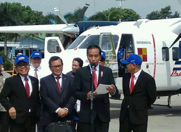 Uji Coba Pesawat N219 Jadi Momentum Kebangkitan Industri Dirgantara