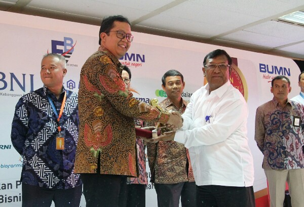 BTN Diganjar Anugerah BUMN Performance Excellence Award