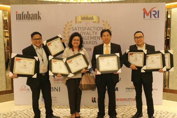 Bank Mega Sabet 9 Penghargaan SLE 2018