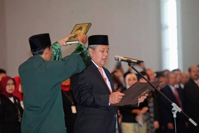 Perry Warjiyo Resmi Dilantik Jadi Gubernur BI
