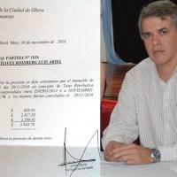 Finalmente la Municipalidad confirmó la deuda de Chaves, quien se justificó diciendo que la Junta Electoral no objetó