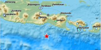 Gempa di Tenggara Malang 16 November 2016