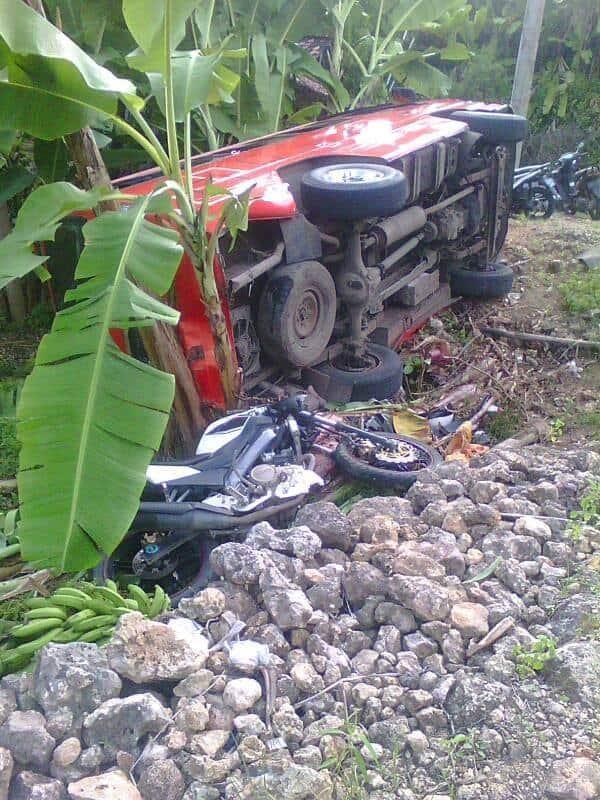 Kecelakaan Elf di Tambakrejo