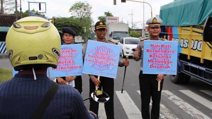 Kapolers Blitar Ikut Sosialisasikan Operasi Simpatik