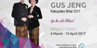 Pendaftaran Gus Jeng Kab Blitar