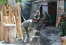 TNI Bangun Rumah Pejuang Veteran
