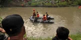 ilustrasi pencarian korban tenggelam. foto republika co id