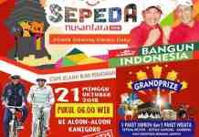 Sepeda Nusantara 2018,, foto dari DISPARBUDPORA KAB. BLITAR